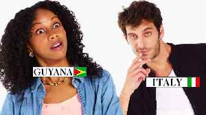 News video: 70 People Reveal How to Tell If Someone Is From Their Country