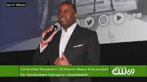 News video: Federal Prosecutors Are Seeking Credit Card Records For Former Mayor Kasim Reed