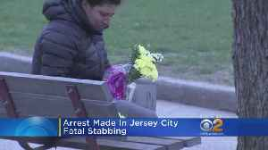 News video: Arrest Made In Jersey City Fatal Stabbing