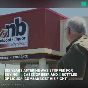 News video: New Brunswick Man Loses 'Free The Beer' Case At Supreme Court