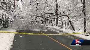 News video: Communities still working to cleanup damage from nor'easters