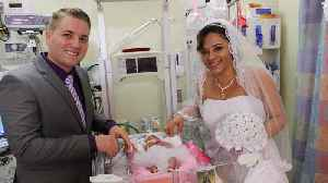 News video: Couple Gets Married in Hospital After Baby Was Born Premature