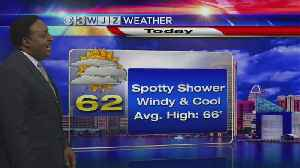 News video: Tim Williams Has Your Mid-day Weather Forecast