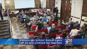 News video: Pittsburgh Public School Board Approves 3-Year Contract With Teachers' Union