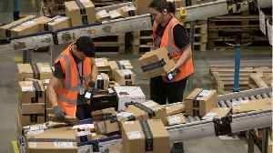 News video: Many Amazon Warehouse Workers Are Living Off Food Stamps