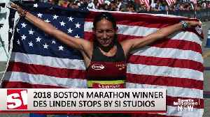 Boston Marathon Champ Des Linden: U.S. Marathon Runners Will Thrive in Future (FOR YOUTUBE) [Video]