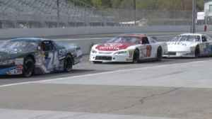 News video: Denny Hamlin and Kyle Busch practice at Langley Speedway