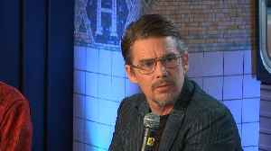 News video: Why Ethan Hawke Isn't Surprised That Cynthia Nixon Is Running For Governor