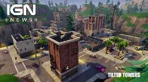 News video: Fortnite Players Attempt to Destroy Tilted Towers