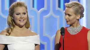 News video: Amy Schumer shared a text Jennifer Lawrence sent her, and it's basically every BFF meme on Instagram