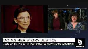 News video: What's It Like Hanging With the Notorious RBG?