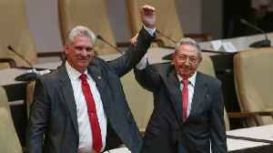 News video: Cuba's New President Diaz-Canel Vows To Defend Legacy of Castro Revolution