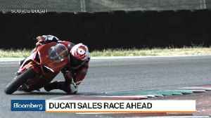 News video: Ducati CEO Sees Success From Focus on 'Younger Generation'