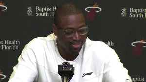 News video: Dwyane Wade on Game 3 playoff game versus the Sixers