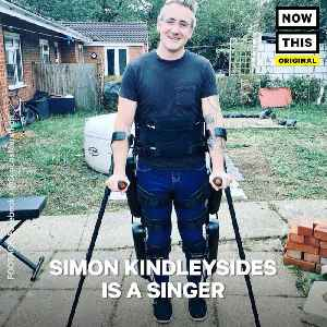 News video: Simon Kindleysides Is Going To Be The First Paralyzed Man To Walk The London Marathon