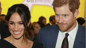 News video: Meghan Markle Dazzles In Little Black Dress At Event For Women's Empowerment