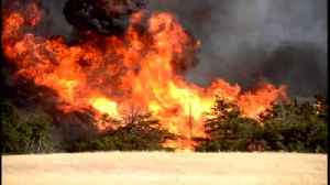 News video: At Least 2 Dead, 20 Injured In Oklahoma Wildfires