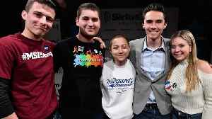 News video: The Parkland survivors were named one of Time's Most Influential People, and Barack Obama penned their profile