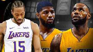 News video: LeBron James, PG13 AND Kawhi Irving Will ALL PLAY For THE LAKERS According to MULTIPLE Sources