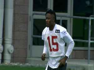 News video: Giants part ways with Marshall