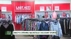 News video: Macy's opening Backstage discount stores