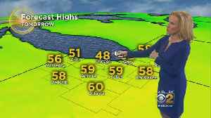 News video: CBS 2 Weather Watch (5PM, April 19, 2018)