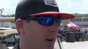 News video: Kyle Busch talks about racing at Langley Speedway