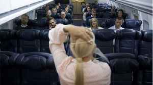 News video: Passengers Reportedly Wore Oxygen Masks Wrong During Emergency Landing