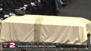News video: Officer Crossley laid to rest