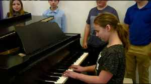 News video: Students raise funds for a new piano