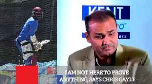 News video: I Am Not Here To Prove Anything, Says Chris Gayle