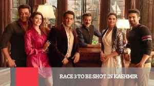News video: Race 3 To Be Shot In Kashmir