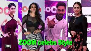 News video: ZOOM celebs Style at the Red Carpet