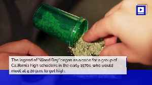 News video: How 4/20 Became 'Weed Day'