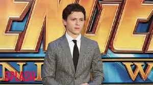 News video: Tom Holland was given a 'really fake' Avengers: Infinity War script