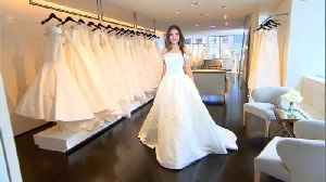 News video: How Would Meghan Markle Look in These Wedding Dress Styles?