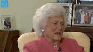 News video: Barbara Bush Unflinchingly Stared Death in the Face Because 'There Is a Great God'