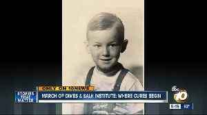 News video: March of Dimes & Salk Institute: where cures begin