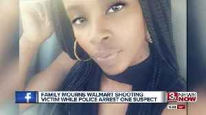 News video: Family mourns Walmart shooting victim while police arrest one suspect