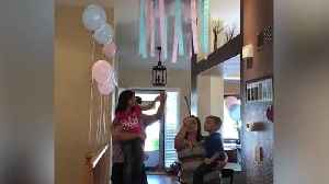 "News video: ""Funny Gender Reveal Fail"""