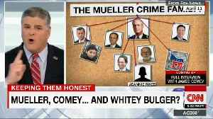 News video: Anderson Hits Hannity, Fox News For 'Coordinated Smear Campaign' Against Mueller, Comey