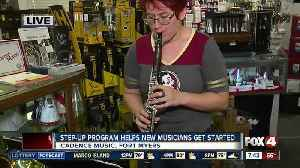 News video: Local program helps young, aspiring musicians - 7:30am live report