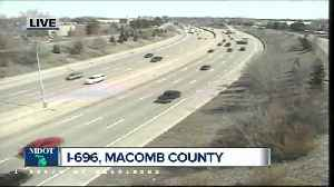 News video: I-696 closing in Macomb County to begin Friday April 27