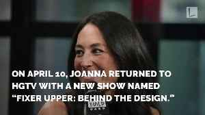 News video: Joanna Gaines Returns To HGTV In New Spinoff, But Without Chip By Her Side
