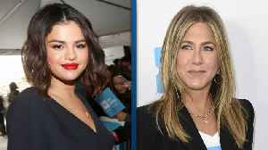 News video: Jennifer Aniston and Selena Gomez Support Each Other and Youths at WE Day