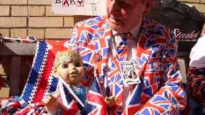 News video: Royal baby fans camp outside of London hospital in anticipation of birth