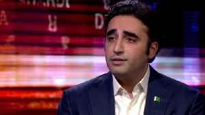 News video: Benazir Bhutto's son on election commitment
