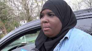 News video: Racist Note Left on Muslim Woman`s Vandalized Car 2 Weeks after She Moved to Town