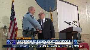 News video: Maryland school safety summit gather in hope of change