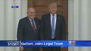 News video: Rudy Giuliani Joins Legal Team Amid Trump's Denouncement Of Mueller Investigation